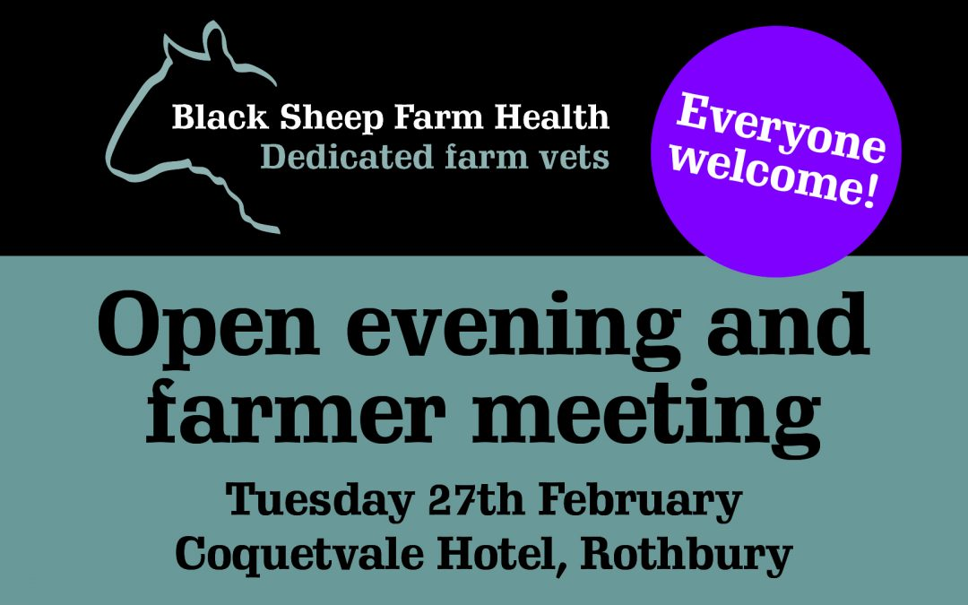 Open evening and farmer meeting